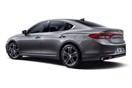 Hyundai he lo sedan hang trung Azera moi 'dau' Lexus ES - Anh 7