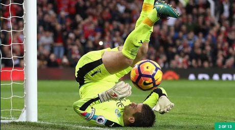 Doi hinh tieu bieu vong 10 Ngoai hang Anh: Arsenal thi uy - Anh 1