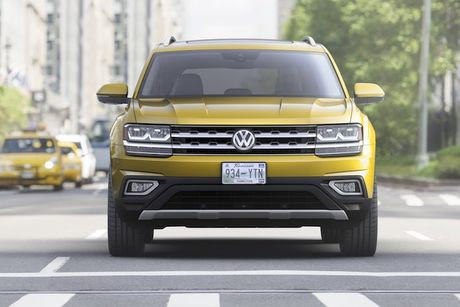 Volkswagen trinh lang crossover 7 cho 'gia mem' Atlas - Anh 2