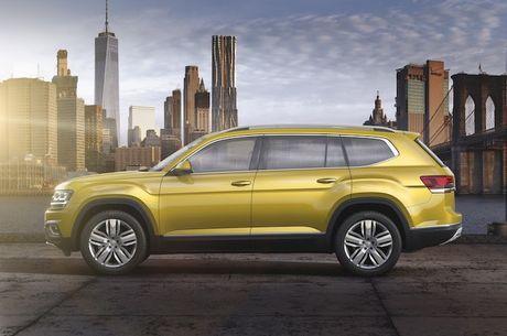 Volkswagen trinh lang crossover 7 cho 'gia mem' Atlas - Anh 3