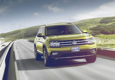 Volkswagen trinh lang crossover 7 cho 'gia mem' Atlas - Anh 7