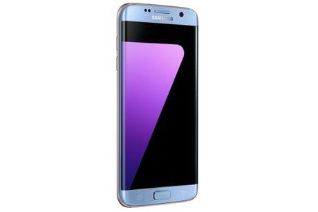Samsung ra mat them phien ban Galaxy S7 Edge mau Blue Coral tai Viet Nam - Anh 2