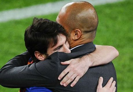 Messi lan dau nhan xet ve Man City cua Pep Guardiola - Anh 1
