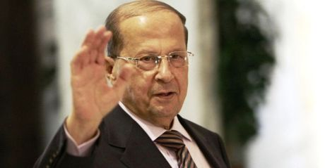 Cuu chi huy quan doi Michel Aoun duoc bau lam Tong thong Lebanon - Anh 1