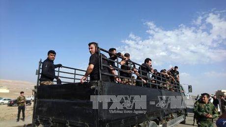 Luc luong Iraq lan dau tien tien vao Mosul - Anh 1