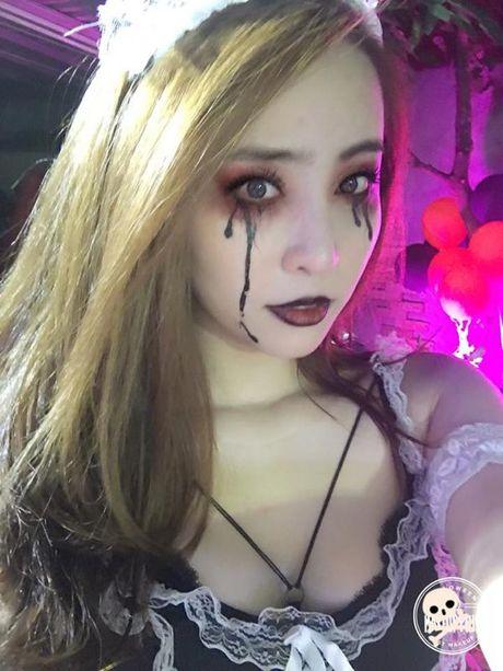 Halloween 2016: 'Khoc thet' truoc hoa trang kinh di cua sao Viet - Anh 6