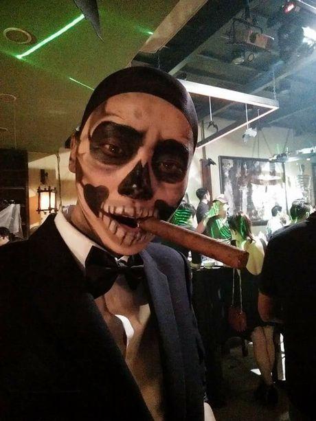 Halloween 2016: 'Khoc thet' truoc hoa trang kinh di cua sao Viet - Anh 8