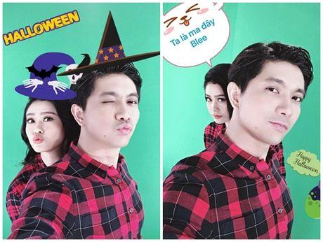 Halloween 2016: 'Khoc thet' truoc hoa trang kinh di cua sao Viet - Anh 9