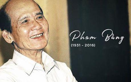 Nghe si Pham Bang qua doi: Sao Viet nghen ngao khoc thuong - Anh 1