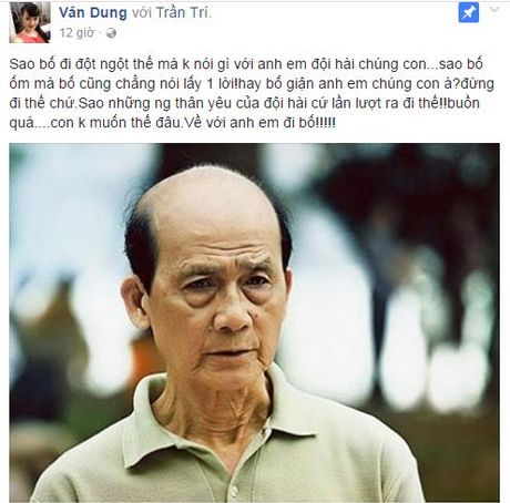 Nghe si Pham Bang qua doi: Sao Viet nghen ngao khoc thuong - Anh 6