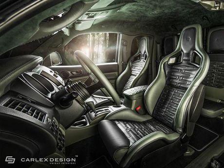 Ngam Toyota Tacoma lot xac qua ban tay phu thuy cua Carlex Design - Anh 2
