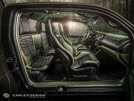 Ngam Toyota Tacoma lot xac qua ban tay phu thuy cua Carlex Design - Anh 3