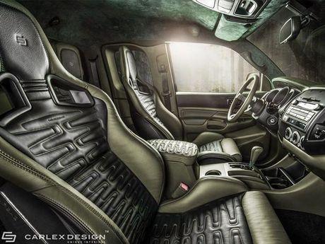 Ngam Toyota Tacoma lot xac qua ban tay phu thuy cua Carlex Design - Anh 6