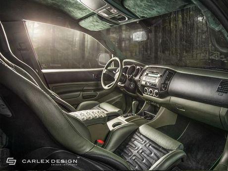 Ngam Toyota Tacoma lot xac qua ban tay phu thuy cua Carlex Design - Anh 8