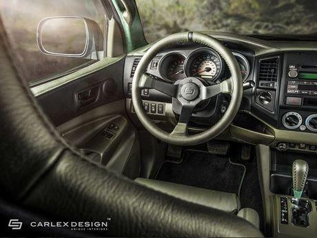 Ngam Toyota Tacoma lot xac qua ban tay phu thuy cua Carlex Design - Anh 9