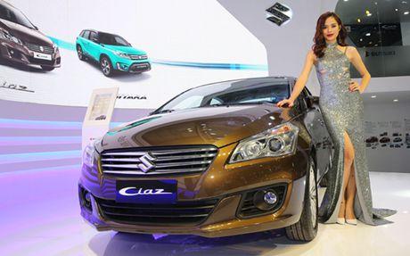 Suzuki Ciaz, doi thu moi cua Toyota Vios - Anh 1