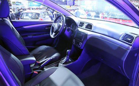 Suzuki Ciaz, doi thu moi cua Toyota Vios - Anh 5