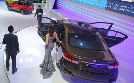 Suzuki Ciaz, doi thu moi cua Toyota Vios - Anh 6