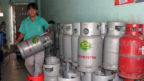 Hom nay (1/11) gia gas chinh thuc tang 19.000 dong/binh 12kg - Anh 1