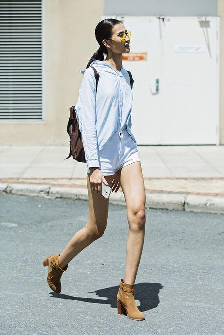 Trai xinh gai dep Next Top nhiet liet huong ung 'The Best Street Style' - Anh 1