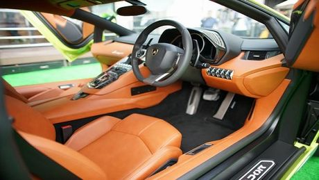 Chiem nguong sieu xe Lamborghini Aventador Miura Homage duy nhat tai chau A - Anh 3