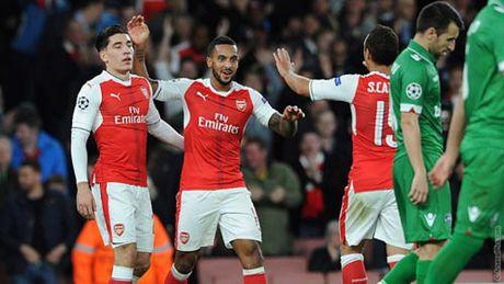 Ludogorets – Arsenal: Ban dap de leo nui - Anh 1