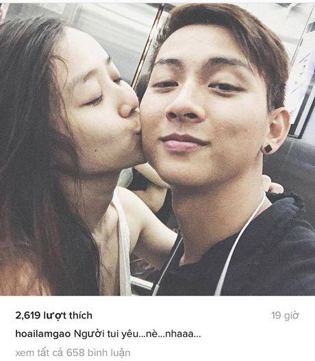 Hoai Lam cong khai ban gai xinh nhu hotgirl - Anh 1
