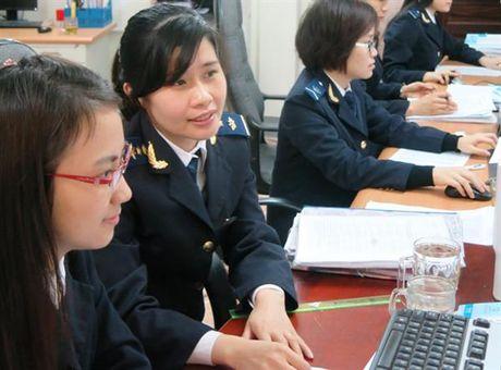 10 thang: nganh Hai quan thu NSNN dat gan 216 nghin ty dong - Anh 1