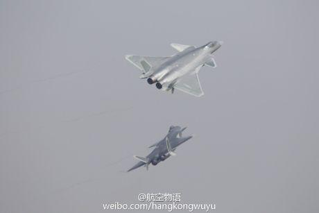 Sieu tiem kich J-20 cua Trung Quoc 'xuat dau lo dien' - Anh 8