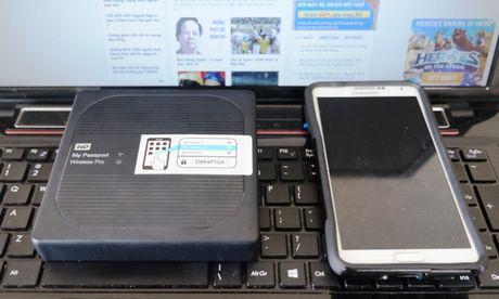 My Passport Wireless Pro: O cung thoi dai smartphone - Anh 3