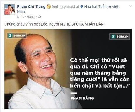 Nghe si xot xa truoc su ra di cua NSUT Pham Bang  - Anh 4