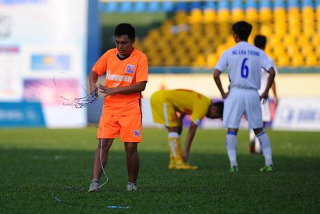 Phong su anh: An tuong san Cam Pha giai U.21 - Anh 4