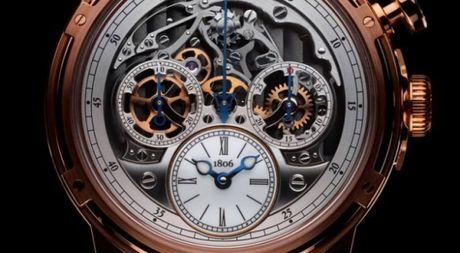 Louis Moinet Memoris, chiec chronograph toan nang dau tien trong the gioi dong ho xa xi - Anh 1