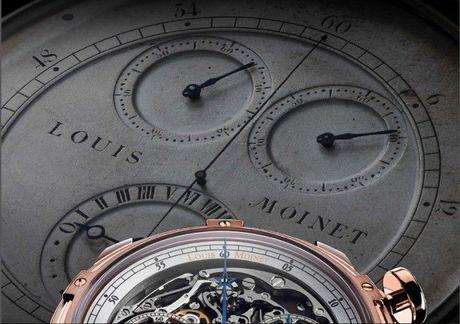 Louis Moinet Memoris, chiec chronograph toan nang dau tien trong the gioi dong ho xa xi - Anh 3