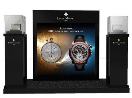Louis Moinet Memoris, chiec chronograph toan nang dau tien trong the gioi dong ho xa xi - Anh 4