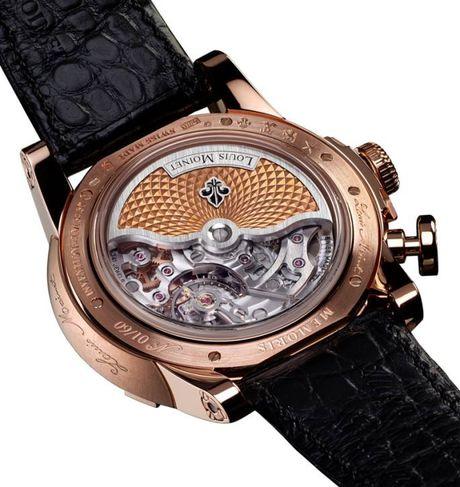 Louis Moinet Memoris, chiec chronograph toan nang dau tien trong the gioi dong ho xa xi - Anh 7