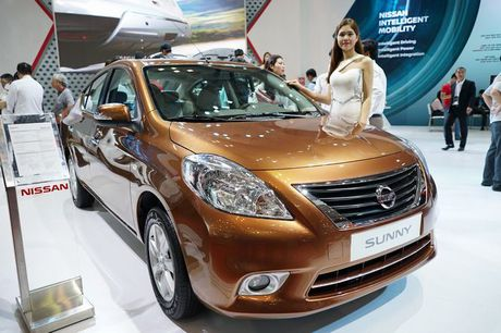 Can canh Nissan Sunny, chiec sedan re nhat VIMS 2016 - Anh 2