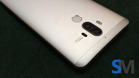 Huawei Mate 9 lo anh thuc te sat ngay ra mat - Anh 1