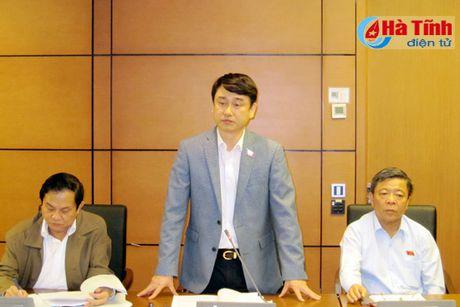 DBQH doan Ha Tinh de nghi siet chat quan ly su dung tai san cong - Anh 3