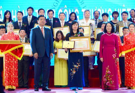 """Doanh nghiep vi Nguoi lao dong"" nam 2016 ton vinh VietinBank - Anh 1"