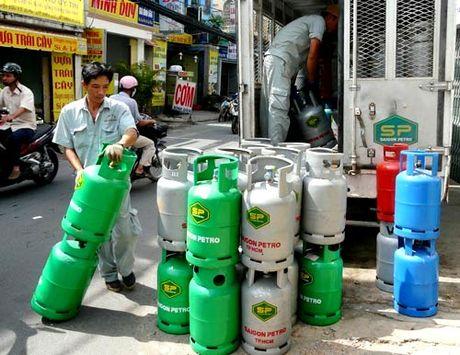 TP Ho Chi Minh: Gia gas vuot nguong 300.000 dong/binh - Anh 1