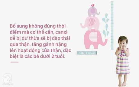 Cho tre duoi 2 tuoi uong thuoc bo sung canxi - bo me Viet dang lam hai con - Anh 2
