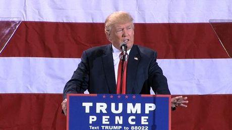 Ong Trump 'ha he' cam on tro ta cua ba Clinton - Anh 1