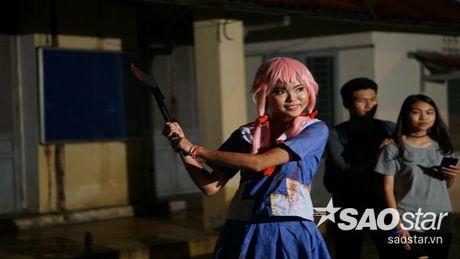 Teen Trung hoc Thuc hanh 'quay' tung bung le hoi hoa trang Halloween - Anh 4