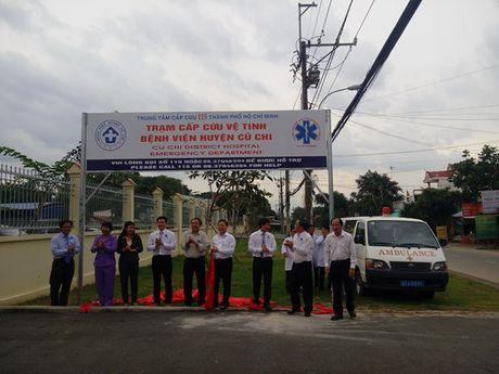 TPHCM: Them 1 tram cap cuu ve tinh 115 - Anh 1