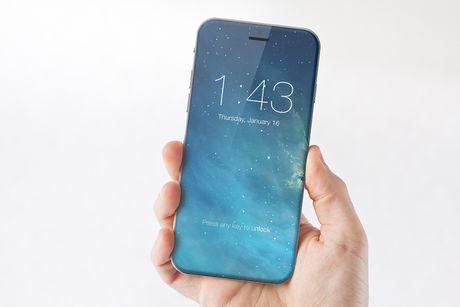 Hinh mau ly tuong cua iPhone 8 co phai dien thoai khong vien man hinh? - Anh 1