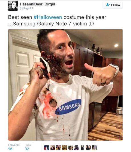 Galaxy Note 7 la bo trang phuc 'hot' nhat dem Halloween hom qua - Anh 3