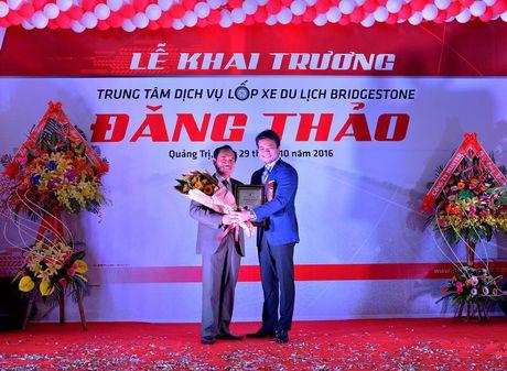 Bridgestone khai truong Trung tam Dich vu Lop xe du lich moi - Anh 2