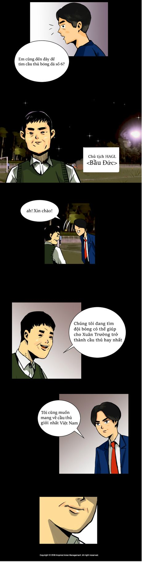 Xuan Truong len truyen tranh truc tuyen cua Han Quoc - Anh 5