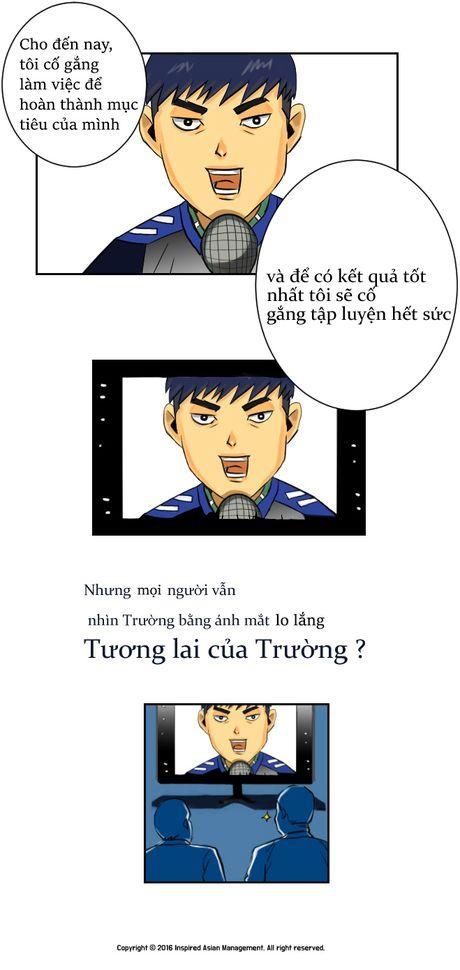 Xuan Truong len truyen tranh truc tuyen cua Han Quoc - Anh 9